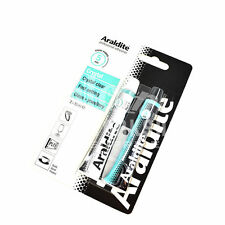 ARALDITE CRYSTAL 2 x 15ml TUBE CLEAR EPOXY POWER GLASS JEWELLERY ADHESIVE PRO