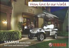 Brochure - Yamaha - Golf Carts - Industrial Electric - GERMAN language (V133)