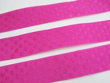 """10 yard Hot Pink Woven Jacquard Polka Dot 1.5"""" Ribbon/Trim/Sewing/Dress/Bow R114"""