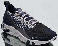 Nike React Sertu Men's Vast Grey Navy Athletic Casual Lifestyle Sneakers Shoes