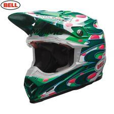 Bell Moto 9 Carbon Flex McGrath Replica Motocross MX Race Helmet Green Adults