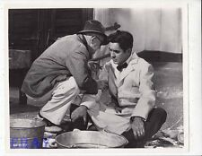 John Ford directs Tyrone Power candid on set VINTAGE Photo Long Gray Line