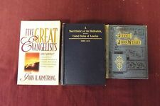 3 books written about Methodism