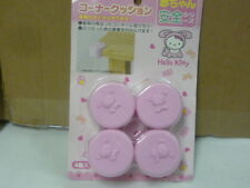 NIB Sanrio Hello Kitty pink corner table guard baby protective cover