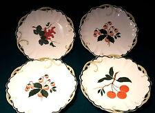 4 Rosenthal Teller Obst Motive Marke Lion D`Or von 1903