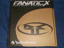 "OLD SCHOOL ROCKFORD FOSGATE FNX-2614 SPEAKERS!!   RARE 6.5"" FANATIC X COMPONENTS"