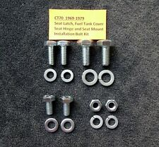 Honda CT70 Seat/Tank  Assembly Area Installation Bolt Kit 1972-78(Not OEM Bolts)