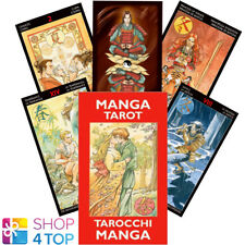 MANGA MINI TAROT CARDS DECK MINETTI LAZZARINI ESOTERIC TELLING LO SCARABEO NEW