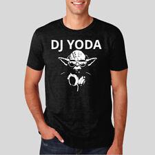 DJ Yoda with headphones  Men's & Ladies T-Shirt *MANY OPTIONS* STAR WARS PARODY