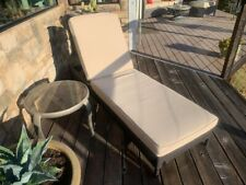 Crosley Chaise Lounge Pad Cover  Tan  New!