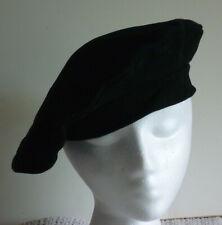 Hat- Black Leather Bret Type- Custom Made