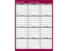 At A Glance 2022 16 X 12 Yearly Calendar Compact White Pm330b 28 22