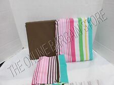 Pottery Barn teen saylor Stripe Bed Dorm Bed in Bag Sheets duvet XL Twin 3 PC