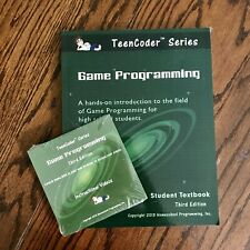 Game Programming (TeenCoders) 3rd Edition Textbook, Cd, + Instructional Videos