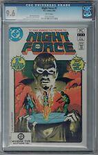 Night Force #1 CGC 9.6 NM+ Wp DC Comics Bronze Age 1982 Gene Colan Cult Classic