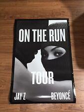 Beyonce Jay Z On The Run Tour 24x36 Poster Original Rare