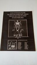 "Fleetwood Mac ""Heroes Are Hard To Find"" 1974 Rare Original Print Promo Poster Ad"