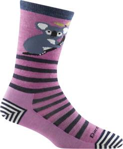 Women's Darn Tough 6037 VIOLET Crew Light  Socks S M L MERINO Wool Animal Haus