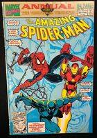 AMAZING SPIDER-MAN ANNUAL #25 (1991) Marvel Comics Black Panther VG+/FINE-