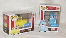 Disney Pixar Cars Luigi & Guido Funko Pop/3 Smaller Diecast Vehicles All NIP