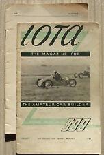 IOTA 500 CLUB RACING Car Magazine Feb 1949