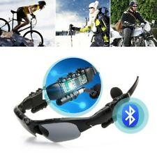 Wireless Bluetooth 4.0 Sunglasses Polarized Stereo Headset Headphone MP3 Player