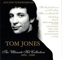 (CD) Tom Jones - The Ultimate Hit Collection 1965-1988 - Delilah, Help Yourself