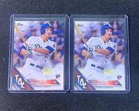 Lot Of 2 Topps Corey Seager Rookie RC #85 Los Angeles Dodgers PSA BGS READY