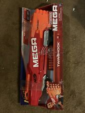 NERF N-Strike  Twinshock  Blaster + 10 Mega Darts NEW