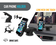 Telescopic Arm Car Holder Dashboard Suction Cup Mount Stand for Cell Phone Pulse