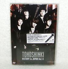 TOHOSHINKI History in Japan Vol.4 2009 Taiwan Ltd DVD + Postcard (TVXQ)