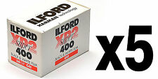 Pellicola 35mm Rullino BN Bianco e Nero Ilford XP2 Super 400 135-36 5pz.