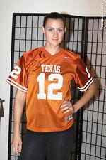 UTA Texas Longhorns Football Jersey - Generic #12 - Orange - Nike - Youth Medium