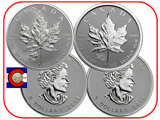 2016 Canada Wolf & Grizzly Privy Maple Leaf Silver Two Canadian Coins w airtites