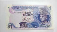 (BN-0014) 1982-84 Malaysia 1 Ringgit (Aziz Taha)- UNC