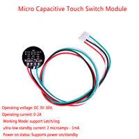 3V-30V 12V mini capacitive touch switch module latch/jog trigger actionbistableW