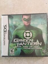 Green Lantern: Rise of the Manhunters (Nintendo DS, 2011) DS NEW
