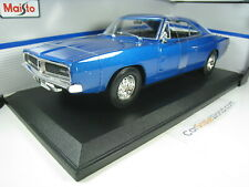 DODGE CHARGER R/T 1969 1/18 MAISTO (BLUE)