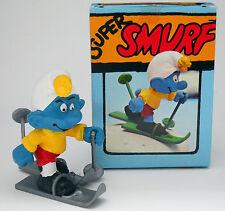 """40205 SKIEUR """"en Âge Original Boîte""""/skis smurf – new box!"""