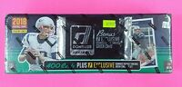 2018 PANINI DONRUSS HOBBY FOOTBALL FACTORY SET SEALED WITH BONUS ROOKIE THREADS!