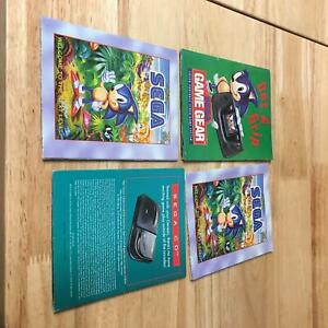 Lot of 4 Sega Posters