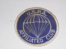 U.S.P.A. AFFILIATD CLUB PATCH 3 INCH DIAMETER PARA TROOPER