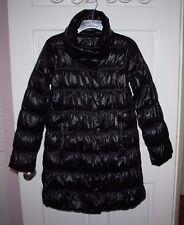 NWT Womens Eileen Fisher Black Down Coat Jacket Size XXS