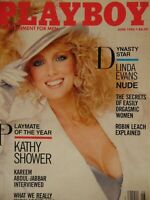 Playboy June 1986   Linda Evans Kathy Showers Rebecca Michelle Ferratti   #1516+