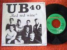 UB 40 - Red red wine / Sufferin´    Virgin 45  diff. Label