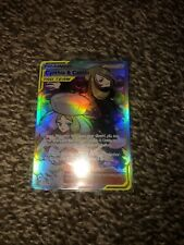 Cynthia & Caitlin Pokemon Tag Team Full Art Holo 228/236