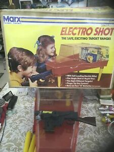 Vintage - The  Electro-Shot Shooting Gallery Marx Toys Mostly Complete