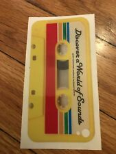 iPhone 4 Retro Casette Case Cover Skin Protector