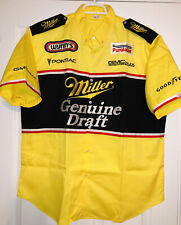 XL NOS Vintage Larry Dixon Miller Beer NHRA Drag SNAKE Racing Pit Crew Shirt