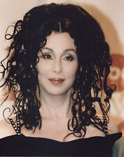 CHER Signed 10x8 Photo IF I COULD TURN BACK TIME COA